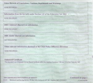 dbs-certificate